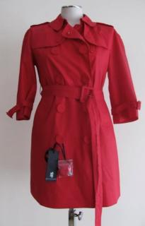 Pringle short red trench