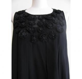 Paul Smith Black black chiffon dress