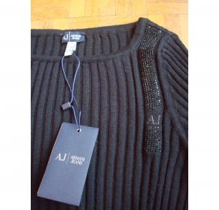 ARMANI WOOL JUMPER