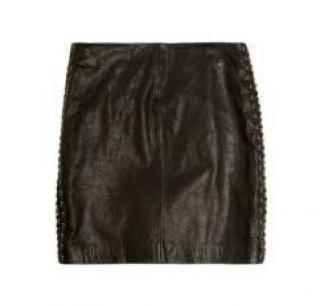 Michael Kors Leather skirt size 6 UK