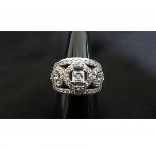Swarvoski Multi Diamond Ring