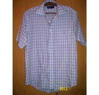 Ralph Lauren Short Sleeve Check Shirt Size 16 1/2