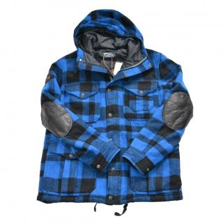 �800 POLO Ralph Lauren plaid coat Size L new