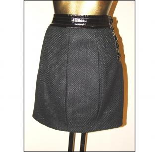 ARMANI EXCHANGE black skirt, size 4