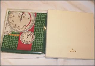 ROLEX silk scarf, new in box