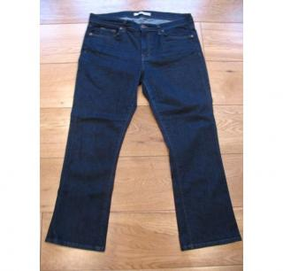 J Brand  'Pure' cut dark blue jeans