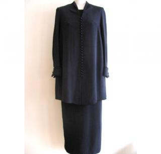 Robinson Valentine Navy dress and coat suit