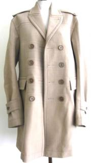 Burberry Prorsum Men's Camel Coat