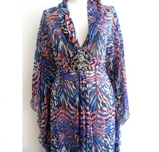 Matthew Williamson Printed Maxi-Kaftan
