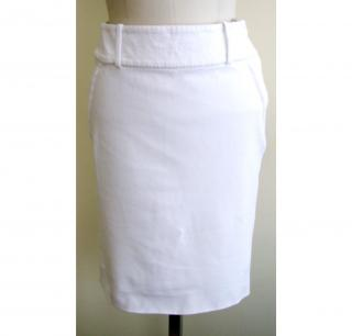 Celine white skirt