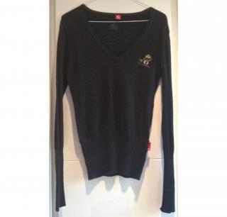 Golfino V Neck Cotton Sweater