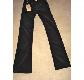 Ralph Lauren black cord trousers