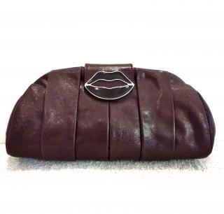 Yves Saint Laurent Dali Lip Clutch Bag