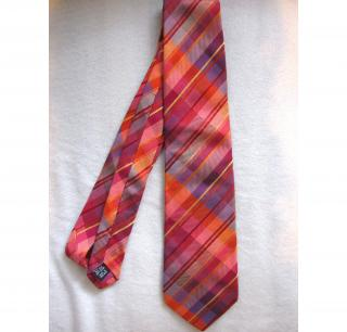 Duchamp mens striped tie