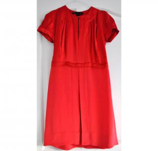 New Marc Jacobs red Silk dress