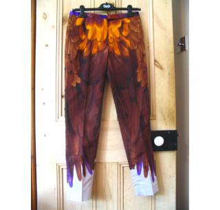Prada Feather Trousers