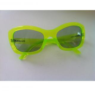 Prada Lime Green Sunglasses
