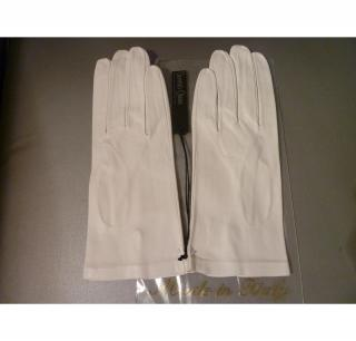 Kid gloves white unlined perfect