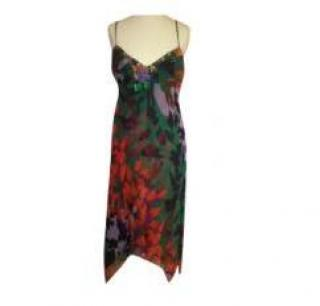 BCBG MAXAZRIA silk dress
