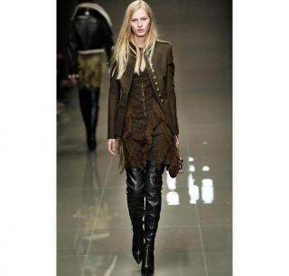 BURBERRY Military Wool Peacoat AW10 RUNWAY