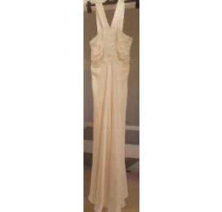 Collette Dinnigan beaded silk dress