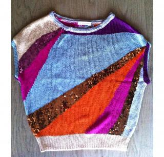 Matthew Williamson Spectrum sequined top