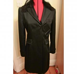 PAUL SMITH SPRING COAT / MAC SIZE 42 BLACK